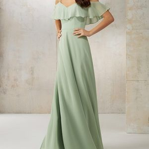 Morilee bridesmaid gown BLUE 21590